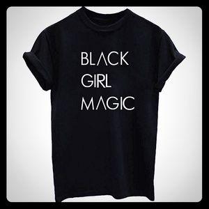 Women's Quality T-shirt😍(Black Girl Magic)😎